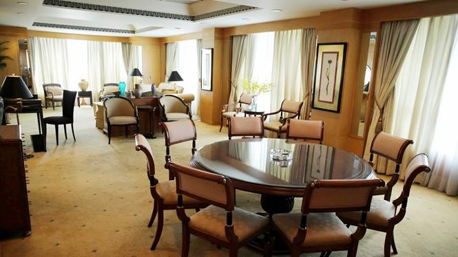 Nội thất trong phòng nghỉ Tổng thống mà cả 3 đời Tổng thống Mỹ đến VN đều lưu trú