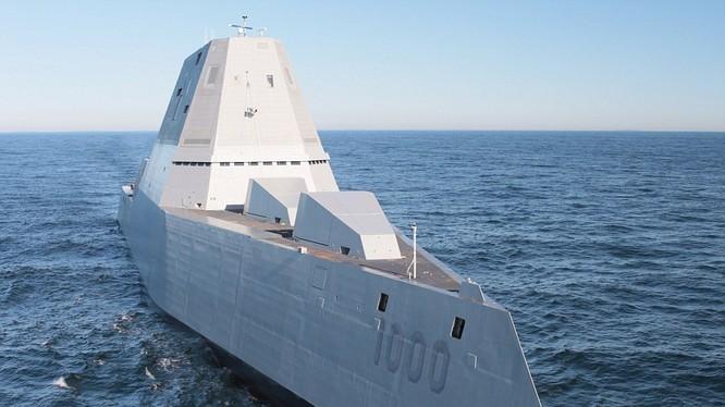 Siêu khu trục hạm Zumwalt của Mỹ
