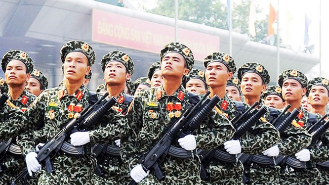Lực lượng đặc công trinh sát của quân đội Việt Nam anh hùng