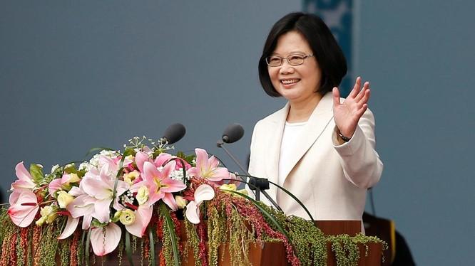 Tổng thống Đài Loan Thái Anh Văn trong buổi lễ nhậm chức tại Đài Bắc ngày 20/5