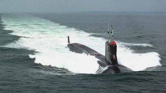 Tàu ngầm tấn công hạt nhân lớp Virginia của Mỹ