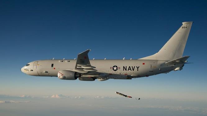 Máy bay trinh sát, săn ngầm P-8 Poseidon của Mỹ