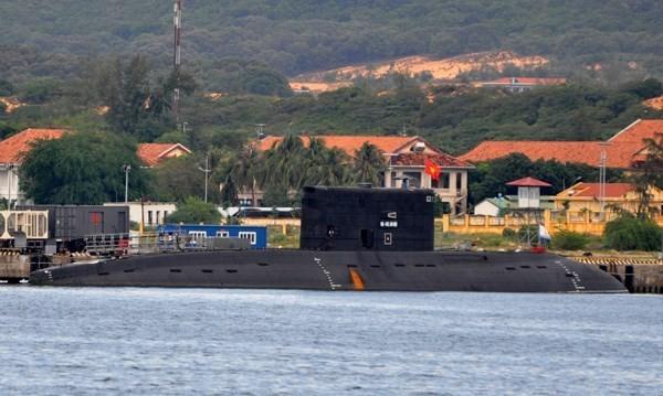 Tàu ngầm Kilo của quân chủng hải quân Việt Nam