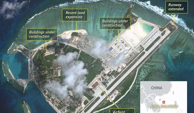 Đảo Phú Lâm thuộc quần đảo Hoàng Sa của Việt Nam bị Trung Quốc xâm chiếm bằng vũ lực