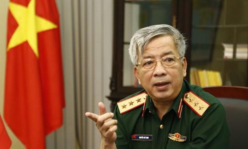 Tướng Nguyễn Chí Vịnh.