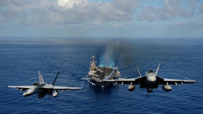 Tàu sân bay Mỹ vẫn hiện diện thường trực ở Biển Đông