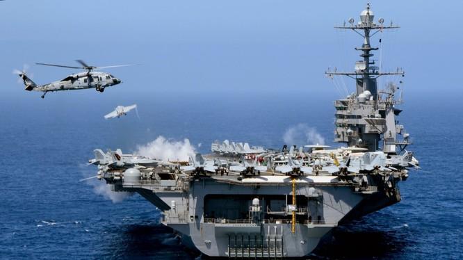 Nhiều khả năng sẽ có hai cụm tác chiến tàu sân bay Mỹ cùng hoạt động ở Biển Đông