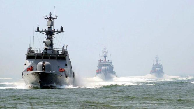 Hải quân Trung Quốc gần đây liên tục tập trận gây căng thẳng khu vực