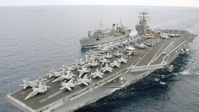 Mỹ sắp triển khai đồng thời hai cụm tác chiến tàu sân bay ở Biển Đông đề phòng bất trắc