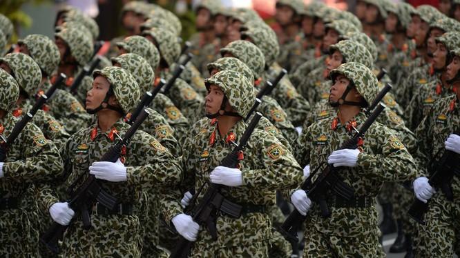 Lực lượng bộ đội đặc công đặc biệt tinh nhuệ của quân đội Việt Nam