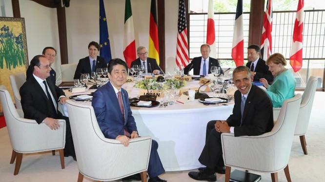 G-7 sẽ tiếp tục lên tiếng về Biển Đông