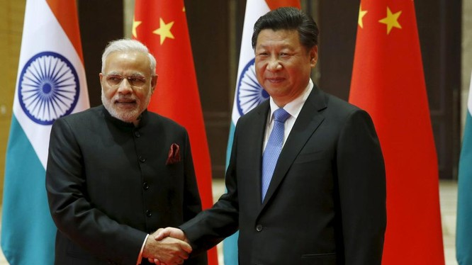 Ông Tập Cận Bình và Thủ tướng Ấn Độ Narendra Modi