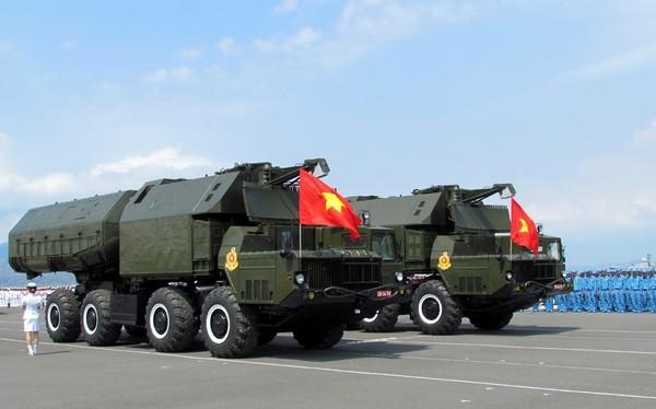 Khẩu đội tên lửa phòng thủ bờ biển Bastion-P của Việt Nam