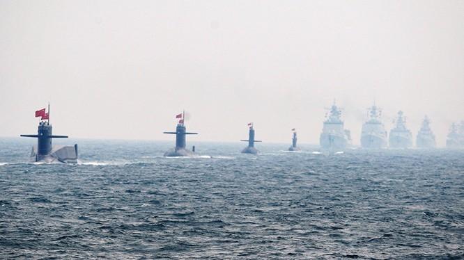 Hải quân Trung Quốc gần đây liên tục tập trận, gây căng thẳng khu vực