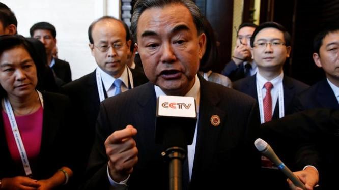 Vương Nghị tại Hội nghị ASEAN ở Lào