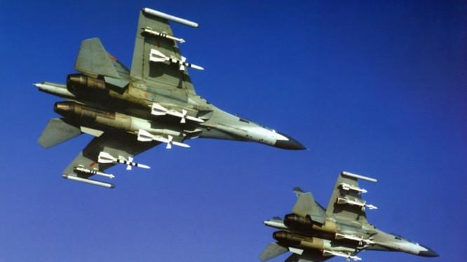 Chiến đấu cơ Su-27 của quân đội Trung Quốc