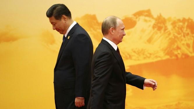 Nga và Trung Quốc cùng đối phó với Mỹ nhưng lợi ích rất khác biệt