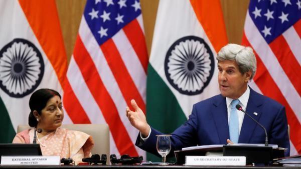 Ngoại trưởng Mỹ Kerry tại Ấn Độ hôm 30/8