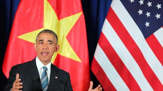 Tổng thống Mỹ Barack Obama đã có chuyến thăm lịch sử tới Việt Nam trong năm 2016