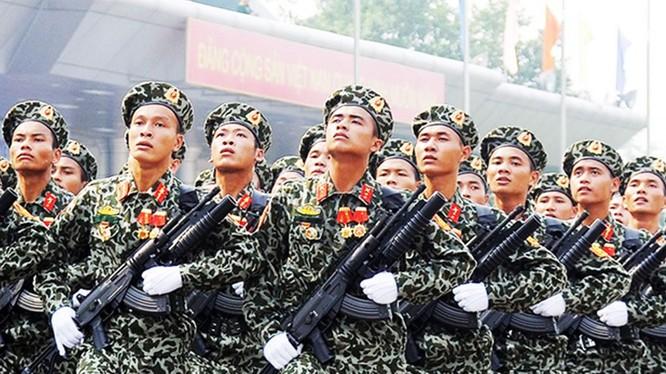 Lực lượng trinh sát đăc nhiệm của Quân đội nhân dân Việt Nam