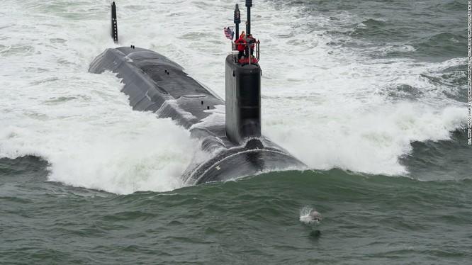 Tàu ngầm tấn công lớp Virginia của hải quân Mỹ