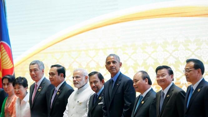 Ông Obama và các nhà lãnh đạo ASEAN