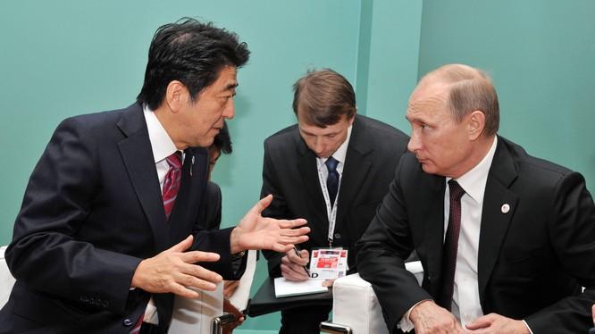 Nga và Nhật Bản đang có dấu hiệu xích lại gần nhau