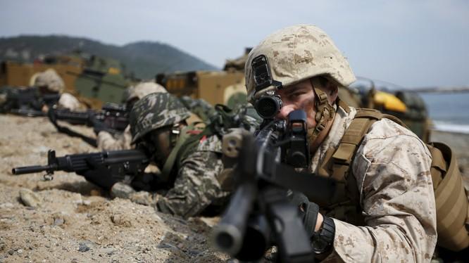 Quân đội Mỹ và đồng minh tập trận