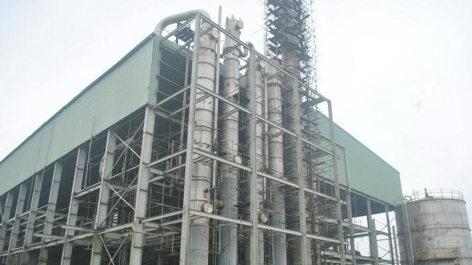 Dự án ethanol Phú Thọ do PVC thực hiện đến nay vẫn chưa thể hoạt động do gặp nhiều vướng mắc