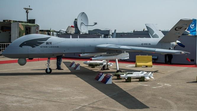 Máy bay không người lái tàng hình Wing Long của Trung Quốc