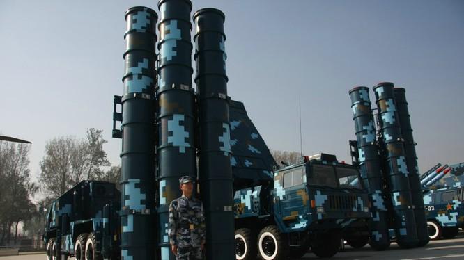 Tên lửa phòng không HQ-9 của Trung Quốc nhái hệ thống S-300 của Nga