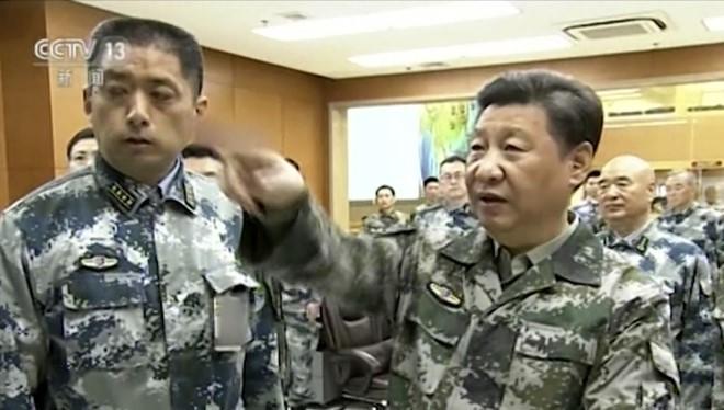 Ông Tập Cận Bình yêu cầu quân đội Trung Quốc phải sẵn sàng đánh thắng trong chiến tranh tiềm tàng