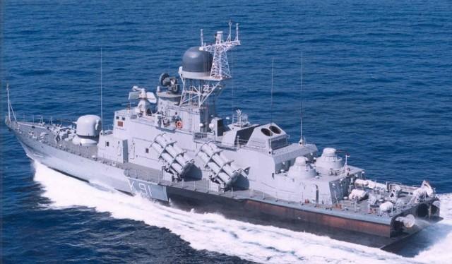 Khinh hạm tên lửa Molnya 1241.8