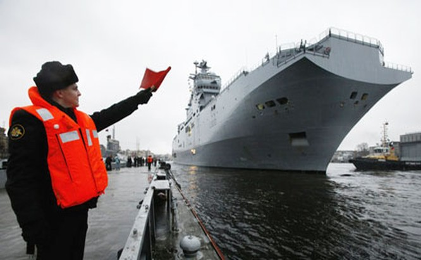 """Nga tỏ ra rất muốn """"soái hạm"""" Mistral của Pháp bởi những ưu thế quân sự vượt trội."""