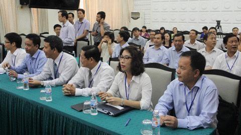 Bộ GTVT tiên phong trong thi tuyển công khai lãnh đạo cấp vụ. Ảnh: 6 ứng viên dự thi tuyển chức Vụ trưởng Vụ Vận tải tháng 8/2014