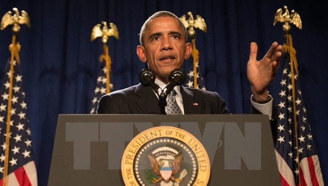 Tổng thống Mỹ Barack Obama. (Nguồn: AFP/TTXVN)