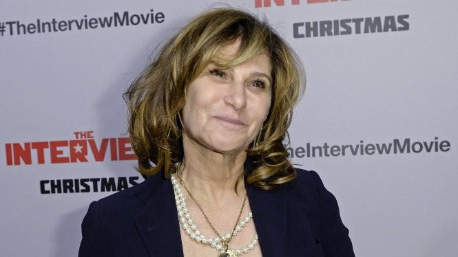 Đồng chủ tịch Sony Pictures Amy Pascal, một trong những người phụ nữ giàu quyền lực nhất Hollywood - Ảnh: Reuters