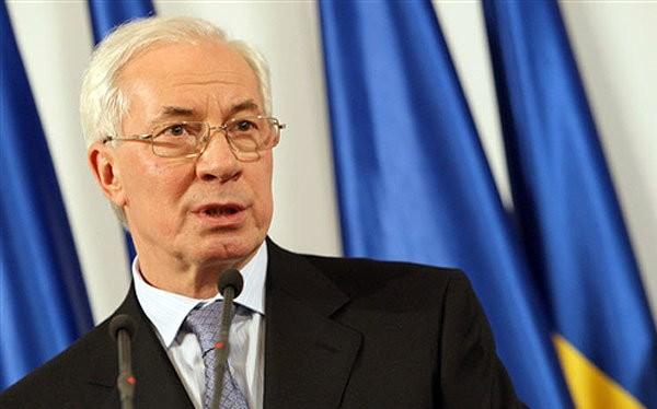 Cựu thủ tướng Ukraine Nikolai Azarov - Ảnh: T.L