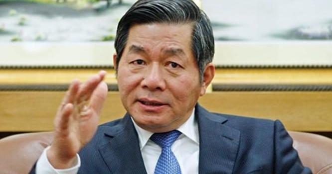 Bộ trưởng Bộ Kế hoạch và đầu tư Bùi Quang Vinh