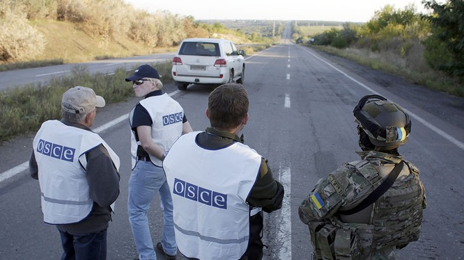 Lực lượng Ukraine rút lui - báo cáo của OBSE
