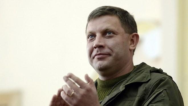 Alexander Zakharchenko, lãnh đạo Cộng hòa Nhân dân Donetsk tự xưng. (Nguồn: AFP)