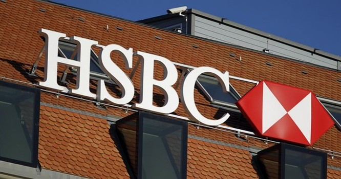 Một chi nhánh ở Genève, Thụy Sĩ của ngân hàng HSBC. Ảnh chụp ngày 09/02/2015. REUTERS/Pierre Albouy
