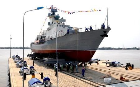 Tàu tên lửa Molniya đang ở giai đoạn hoàn thiện