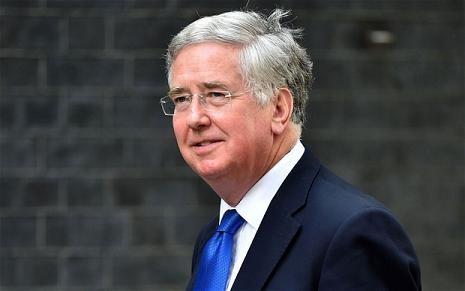 Bộ trưởng Quốc phòng Anh Michael Fallon