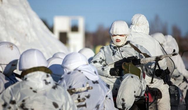 Lữ đoàn bộ binh duy nhất tại Bắc Cực của Nga.