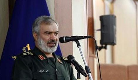 Đô đốc Hải quân Iran Fadavi (Ảnh: PressTV).