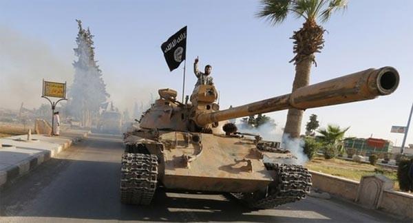 Tỉnh Raqqa của Syria hiện nay là thành trì của IS. (Ảnh: Reuters)