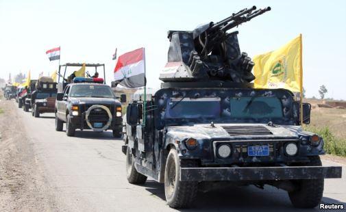 quân đội Iraq tiến vào Tirkit