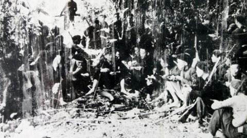 Chiều 22/12/1944 34 đội viên VNTTGPQ đã ăn một bữa cơm chiều trước khi vào trận đánh đồn Phai Khắt
