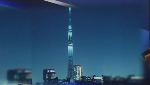 Phác thảo mô hình tháp truyền hình VN - Ảnh: VTV